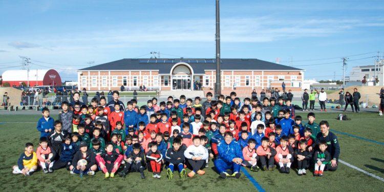 相馬市のサッカーイベントに参加しました