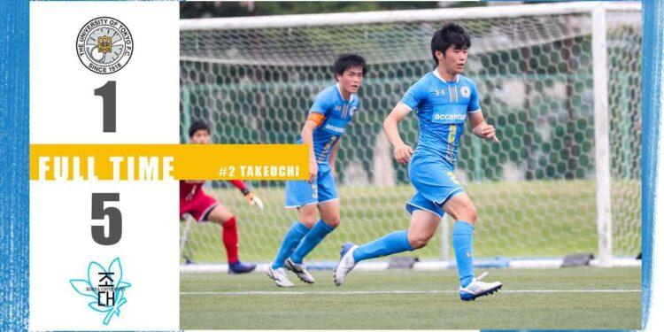 リーグ戦第12節vs朝鮮大学校