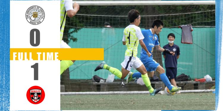 リーグ戦第25節vs成蹊大学